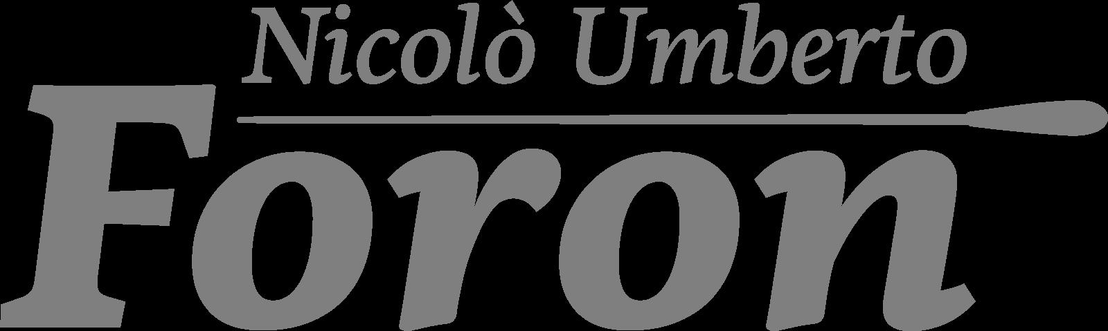 Logo Nicolò Umberto Foron